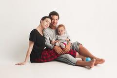 One happy family Stock Photos