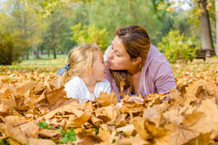Happy Family Autumn Royalty Free Stock Photo