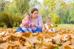 Happy Family Autumn Royalty Free Stock Photos