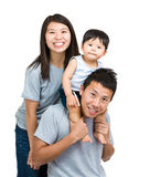 Happy family with baby son Royalty Free Stock Photo