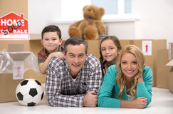 Happy family. Stock Image
