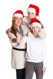Happy family. Christmas. Royalty Free Stock Images