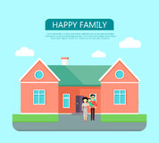 Happy Family Concept Stock Photo