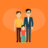 Happy Family Concept Banner Design Royalty Free Stock Images