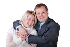 Happy family couple Royalty Free Stock Image