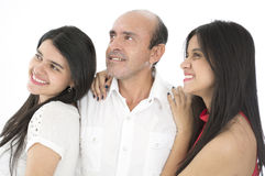 This is a happy family Royalty Free Stock Image
