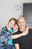 Happy Family enjoying at home royalty free stock photo