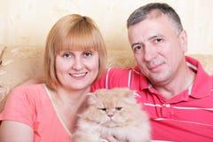 Happy family enjoying their free time Royalty Free Stock Image