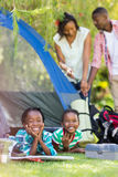 Happy family enjoying together Royalty Free Stock Images