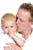 Happy family. Father and little boy Stock Image