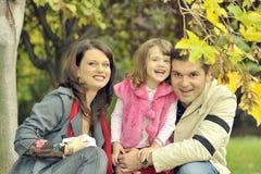 Happy family having fun Stock Photography