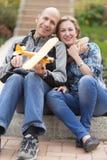 Happy Family and Hobby Royalty Free Stock Photos