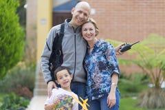 Happy Family and Hobby Stock Photos