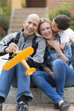 Happy Family and Hobby Stock Photos