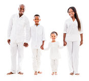 Happy family holding hands Stock Image