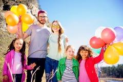 Happy family holiday Royalty Free Stock Photography