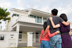 Asian Family Front New House Stock Images - 118 Photos Happy Asian Family In Front Of House