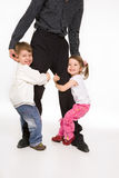 Happy family II Royalty Free Stock Photo