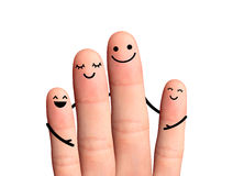 Free Happy Family, Isolated With Clipping Paths On White Background. Royalty Free Stock Image - 39760566