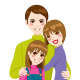 Happy Family Love Stock Photography