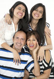 They are a happy family Royalty Free Stock Photography