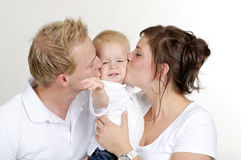 Happy family. loving your child Royalty Free Stock Image