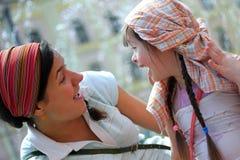 Happy family moments Royalty Free Stock Photo