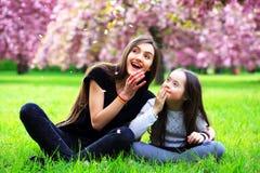 Happy family moments royalty free stock image