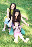 Happy family moments Stock Photography