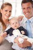 Happy family photo Stock Photos