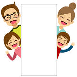 Happy Family Placard Stock Photo