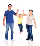Happy family playing Stock Photography