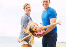 Happy Family Playing Royalty Free Stock Photos