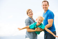 Happy Family Playing Royalty Free Stock Photography