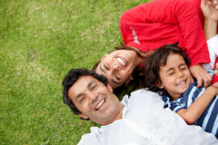 Happy family portrait Royalty Free Stock Photo