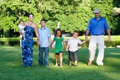 Happy Family Portrait stock photo
