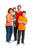 Happy family portrait Royalty Free Stock Photos