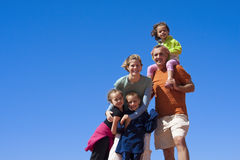 Happy Family Portrait Stock Photography