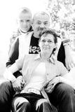 Happy family portrait Stock Image