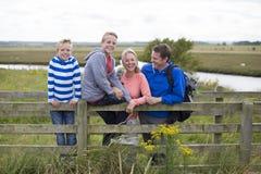 Happy Family Portrait Stock Photos