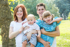 Happy Family Royalty Free Stock Photography