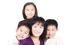 Happy family portrait Royalty Free Stock Photography