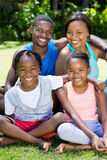 Happy family posing together Royalty Free Stock Photo