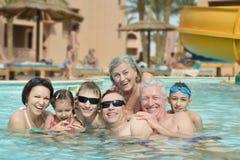 Happy family relax Royalty Free Stock Photo