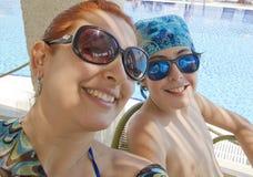 Happy family selfie Royalty Free Stock Photos