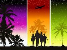 Happy Family, Summer Holiday Royalty Free Stock Image