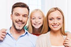 Happy family. Royalty Free Stock Photo