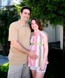 Happy Family To Be Royalty Free Stock Photo