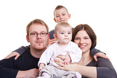 Happy family together Royalty Free Stock Photo