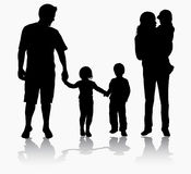 Happy family together Stock Photography